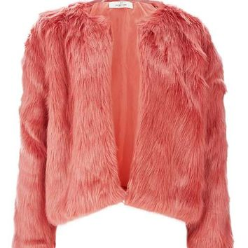 **Faux Fur Jacket by Oh My Love - Sale - Sale & Offers