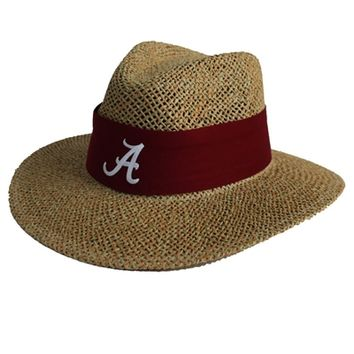 Alabama Nick Saban Straw Safari Hat | BAMA Straw Safari Hat | BAMA Nick Saban Hat