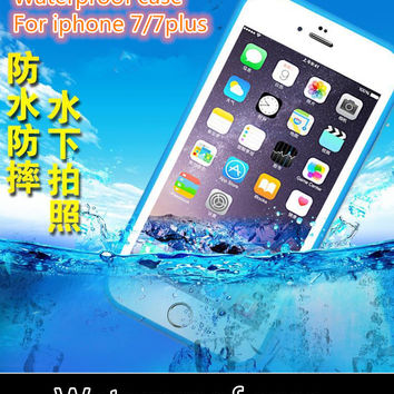 New arrival Waterproof dirtproof life water Proof Diving Protection case for iphone 7 7plus 5 5s se 6 6s plus