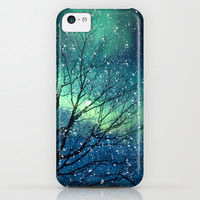 Aurora Borealis Northern Lights iPhone & iPod Case by Bomobob