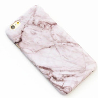 Light Coffee Marble Texture iPhone 7 7Plus & iPhone 6 6s Plus & iPhone 5s se Case Hard Cover +Gift Box