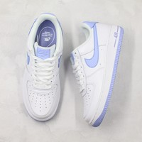 Nike Air Force 1 Low 07 Patent Light Armory Blue Sneakers - Best Online Sale