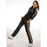 Adidas women Sport Tracksuit Outerwear black/gold for 15.00 USD Sale - #1000061483 - Sellao - Buy and Sell Online for Everybody Trade