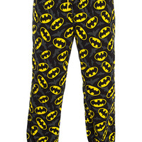 Batman Unisex Jersey Lounge Pants - Black,