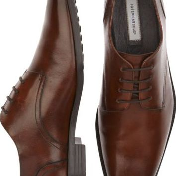 Joseph Abboud Bennett Brown Oxford Lace Ups - Dress Shoes | Men's Wearhouse