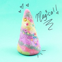 Unicorn Candy Horn Bubble Bar