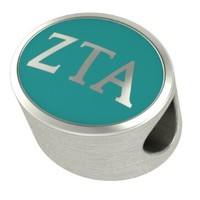 Zeta Tau Alpha Sorority Enameled Charms Fit Most Pandora Style Charm Bracelets