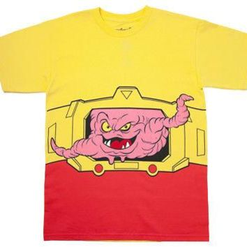 Teenage Mutant Ninja Turtles TMNT I Am Krang Costume Licensed Adult T-Shirt - M