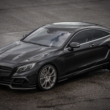 Mercedes S63 AMG Coupe Black Fab Design Poster