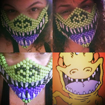 Reptar from Rugrats Kandi Mask