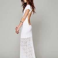 Free People Dreamcatcher Open Back Maxi Dress