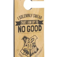 Harry Potter Door Hanger