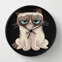 How you doing? Wall Clock by  Alexia Miles photography