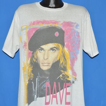 80s David Lee Roth Skyscraper World Tour 1988 t-shirt Extra Large