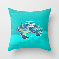Disney's Peter Pan Neverland Throw Pillow by Foreverwars