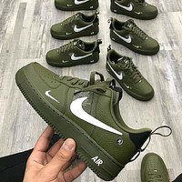 NIKE AIR FORCE 1 AF1 OW Running Sport Shoes Sneakers-6