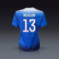 Nike Alex Morgan USA Womens Away Jersey 2015