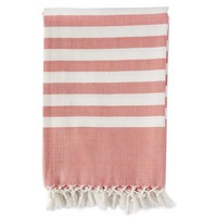 Organic Cotton Classic Stripe Throw
