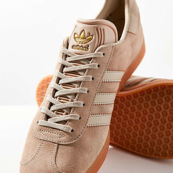 adidas Originals Suede Gum-Sole Gazelle Sneaker - Urban Outfitters