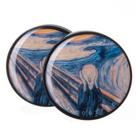 "Edvard Munch ""The Scream"" Power Plugs (6mm-60mm)"