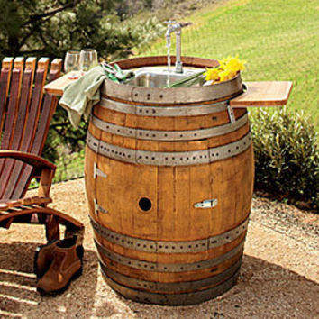 NapaStyle Wine Barrel Sink - NapaStyle