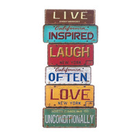 LIFE INSPIRATION WALL DECOR