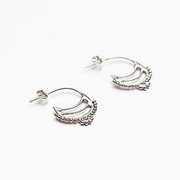 Ono Jewelry Womens Hindi Earrings - Silver One