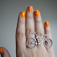 Le Petit Bike Ring by Rachel Pfeffer by RachelPfefferDesigns