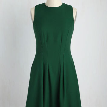 It's Fleur the Best Dress in Stem | Mod Retro Vintage Dresses | ModCloth.com