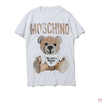 Moschino Short Round Collar Short Sleeve T-shirts #2965671