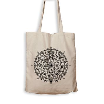 Mandala Compass - Tote Bag
