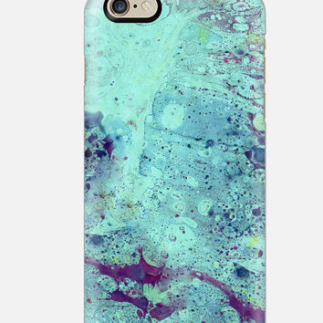 iPhone 6S Case Seafoam Marble iPhone 6 case , Teal Marble iPhone case , iPhone 5c case,  cellcasebythatsnancy