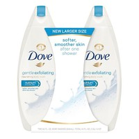 Dove Gentle Exfoliating Body Wash 44 oz - Twin Pack