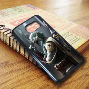 Star Wars Boba Fett Samsung Galaxy S6 Edge Case