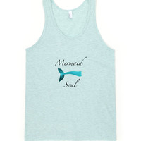 Mermaid Soul Tank Top Shirt Beach Boho Summer Hawaiian Style by Wave of Life™