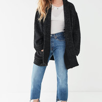 UO Knit Shawl Jacket   Urban Outfitters