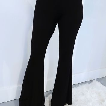 The Countdown Pants: Black