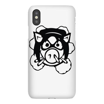 pig wheels angry iPhoneX