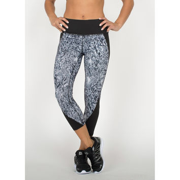 Lumen Acid Print Rave Leggings