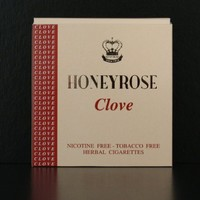 "Honeyrose ""Clove"" Tobacco Free Nicotine Free Herbal Cigarettes"