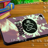 5 Seconds of Summer Art - For iphone 4 iphone 5 samsung galaxy s4 / s3 / s2 Case Or Cover Phone.