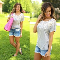 Ornate in Great Top by Miss Me