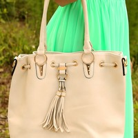 Down The Road Purse: Ivory