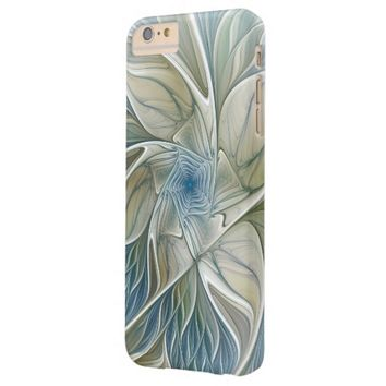 A Floral Dream Pattern Abstract Fractal Art Barely There iPhone 6 Plus Case