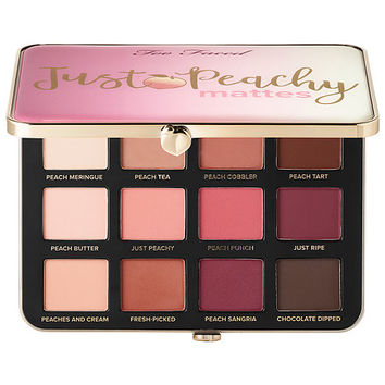 Just Peachy Velvet Matte Eye Shadow Palette – Peaches and Cream Collection - Too Faced | Sephora