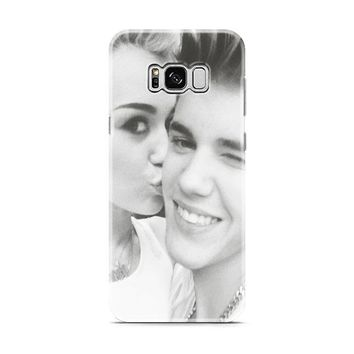 Justin Bieber and Miley Cyrus Samsung Galaxy S8 | Galaxy S8 Plus case