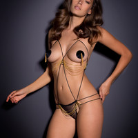 New In by Agent Provocateur - Avery Playsuit