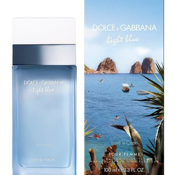 Dolce & Gabbana Light Blue Love in Capri for Women Limited-Edition Eau de Toilette Spray | Dillards