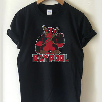 Deadpool Baypool - The Merc Without a Mouth T-shirt Men, Women Youth and Toddler