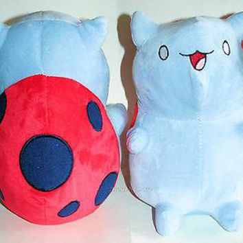 "Licensed cool NEW CONVENTION EXCLUSIVE 10"" Cartoon Hangover Bravest Warriors CATBUG Plush NWT"